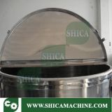o plástico 300kg granula a maquinaria do misturador da cor