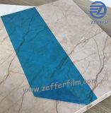Película azul do OEM para a folha de vidro do PE do picosegundo
