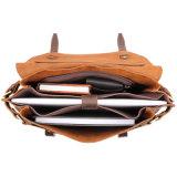"""Messaggero pazzesco del cuoio di cavallo del Brown del nuovo di arrivo buon di prezzi 14 """" sacchetto del computer portatile per gli uomini"""