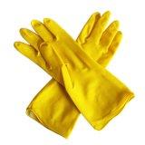 Защитные перчатки из латекса домашних хозяйств для сбора хозяйственного мусора, мойка, очистка