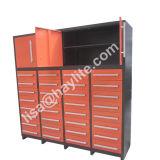 Armário de armazenamento de ferramentas de gaveta de 7 rodas Heavy Duty 32 com portas