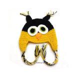 Acrylique Chapeau tricoté animale Owl