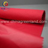 織物のための100%Polyester繭紬のコーティングファブリックは着る(GLLML264)