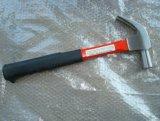 Outil de type américain marteau à panne fendue avec manche recouvert de plastique