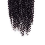 """Верхнюю часть волос моды производитель индийского вьющихся волосах кружева закрытие 4*4 средней части Реми человеческого волоса закрытие швейцарских кружева 10""""12""""14""""16""""18""""20"""" естественные цвета"""