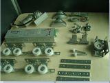 Conservare i portelli automatici commerciali di sicurezza d'argento di energia