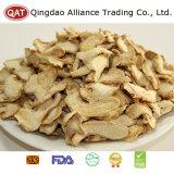 Chinês de qualidade superior em fatias de gengibre seco