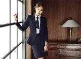 Сделано к Measure Fashion Stylish Office Lady Formal Suit тонкий Fit Pencil Pants Pencil Skirt Suit L51635