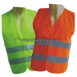 Veste reflexiva de venda quente da segurança do Olá!-Vis com certificação (DFV1001)