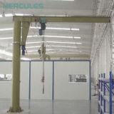 ワイヤーロープ起重機が付いている高品質の回転のジブクレーン