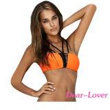 Strappy Bikini-Badeanzug des Bandeau-2PCS