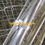 Commercio all'ingrosso Chain rivestito della barriera di sicurezza della maglia DIY del PVC