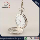 Schnelle Verschiffen-Geschenk-Uhr-Pocket Uhr-Legierungs-Kasten-Uhr (DC-228)