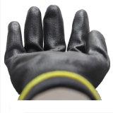 Черный провод фиолетового цвета с покрытием рабочие перчатки защитные перчатки