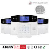 Het draadloze/Getelegrafeerde GSM Veiligheidssysteem van het Alarm van het Huis van de Stem
