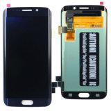 Écran LCD neuf initial Digitzer de rechange pour le bord G925 de la galaxie S6 de Samsung