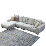 Nordisches Art-Ecken-Gewebe-Sofa für Hauptmöbel