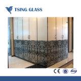 Impresión Silk-Screen templado cristal decorativo para Muebles / Decoración / aparato doméstico.