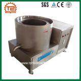 Machine de déshuilage frite semi-automatique de légumes et de casse-croûte
