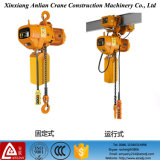 China Tipo 5 Ton Electric Chain Hoist com Gancho