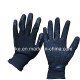 """13G латекс """"мятым"""" эффектом покрытием труда защитные перчатки промышленности"""