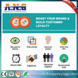 Tarjetas de llave de plástico de la etiqueta NFC Ntag213