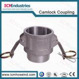 Aluminium de haute qualité 6''TNP Layflat PVC fileté de l'eau connecteur flexible