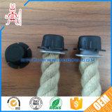 Fil électrique d'Insulative/montures en plastique noirs personnalisés de corde