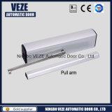 Portão de batente automático de alumínio Veze para uso comercial