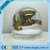 Dôme de neige en plastique avec intérieur de voiture Polyresin (HG-005)