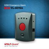 GSM het Bejaarde Systeem van het Alarm van de Noodsituatie met de Knoop van de Paniek