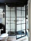 外部の鋼鉄ドアの鉄のフレンチドア
