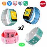 3G GPS van WiFi het Horloge van de Drijver van Jonge geitjes met het Kleurrijke Scherm van de Aanraking en Camera Y20