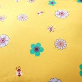 Folha de base impressa do algodão do projeto estilo simples luxuoso