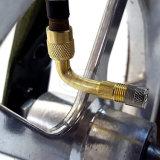 90度のタイヤ弁の拡張アダプターかユニバーサルエクステンダー