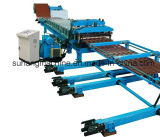 5.5kw Hydraulic 5 Ton Manual Decoiler Power Roof Panel Roll Forming Machine