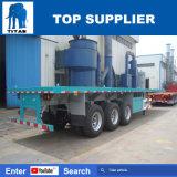 Titan-Fahrzeug 40 FT-Behälter-Plattform-Schlussteil für Verkauf