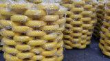 Pollice solido della rotella 10X3.50-4 del carrello della gomma piuma dell'unità di elaborazione