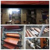 Film en stratifié/clinquant de PVC des graines en bois pour la presse de vide de panneau de forces de défense principale