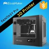Impressora nivelada de Reprap Prusa I3 3D da alta qualidade de Ecubmaker Upgrated auto