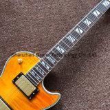 Style LP jaune suprême guitare électrique avec matériel d'Or (BPL-545)