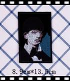 Черный Жан швейной патч аксессуары