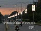 Publicités extérieures P6 Rue lumière numérique Pôle/Post/pilier de l'écran LED