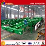 40 Tonnen-Skeleton Schlussteil für Behälter-Transport-Behälter-Chassis
