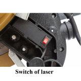 A mitra eletrônica das ferramentas de potência viu com laser