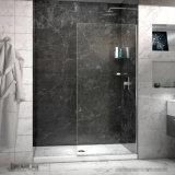 tela de chuveiro do painel do chuveiro do vidro Tempered de 8mm para o banheiro