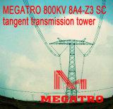 Torre da transmissão do Tangent do Sc de Megatro 800kv 8A4-Z3