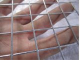 Acoplamiento de alambre soldado galvanizado