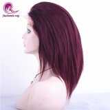 100 % Virgin Cheveux humains indiens Full Lace Wig couleur magnifique