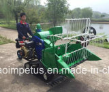 Alimentation de la Chine Qingdao élan 4LZ-0.8 Crawler moissonneuse-batteuse à grain